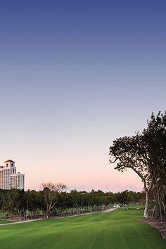Golf course at Grand Hyatt Baha Mar, Bahamas