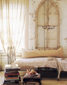 The lighter side of Gothic style - via inspiration for home