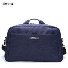 ba428a77c11 Uwkea New Reisegepäck Taschen Hohe Kapazität Tasche Wasserdicht Männer  Tasche für Reise Große Raumtasche Reise
