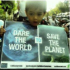 Image by @idfnadesk in Samarinda, Indonesia. Please join us on Saturday, March 23 at 8:30 PM for #EarthHour. Change this big needs you. It needs every one of us.