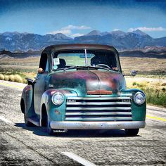 1953 Chevy Pick-Up ~We had one for our ranch pick up when I was growing up. ~V~