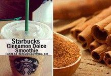 Cinnamon Dolce Smoothie | Starbucks Secret Menu