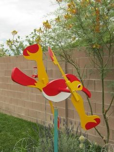 Road Runner Whirligig Whirlygig Large Very Neat