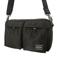 YOSHIDA&CO. PORTER TANKER Shoulder Bag (622-08809) Black Japan New I1388