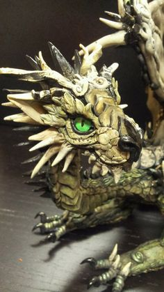 Druma Forest dragon by MakoslaCreations on Etsy, $300.00