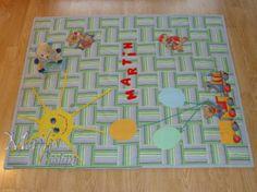 """Baby Quilt The Sun / Laste lapitekk """"Päike Martinile"""" (90 x 110 cm)"""