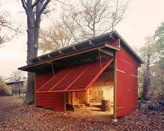 "Very interesting take on a ""garage""."