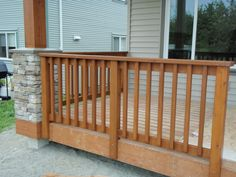 Types of deck spindles - Decorifusta Your deck is an extension of your personality. You need to therefore pay attention to the design of the deck. One of the things that you need to focus on is the deck spindles. Wood Porch Railings, Veranda Railing, Deck Spindles, Horizontal Deck Railing, Deck Railing Design, Deck Design, Deck Railing Ideas Diy, Pergola Ideas, Rustic Deck