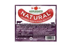 Applegate Natural Uncured Beef And Pork Hot Dog