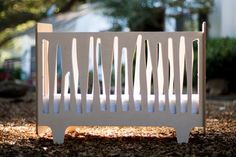 Funky-Forest-Crib-NUMI-NUMI. Made with non-toxic materials and finishes