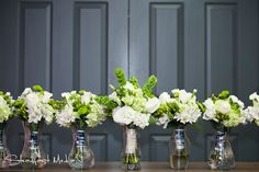 @KD Eustaquio Venner  @Danielle Lampert Armstrong-Hobel  bridal party bouquets?. Don't forget, we have to find vases for them to sit in at the head table.