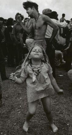Young Hippie, Woodstock, 1969