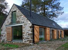 Leachachan Barn - lovely little barn conversion-SR