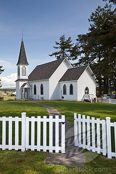 Loved this church. It's even better in person. San Juan Islands, Lopez Island, WA
