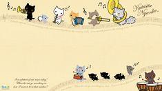New Kutusita Nyanko Wallpaper
