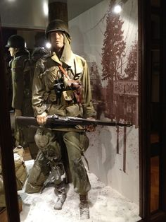Bastogne 1944 The new Bastogne War Museum: commemorate, understand and relive the battle of the Ardennes http://www.intohistory.com/bastogne-1944/ #BattleoftheBulge #Bastogne #WW2