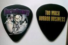 Super Rare Kirk Hammett Too Much Horror Business Guitar Pick Metallica!  #Metallica #KirkHammett #TooMuchHorrorBusiness