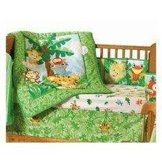 Fisher Price Animals of the Rainforest Crib Bedding & Accessories