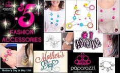 Mother's Day is just around the corner.  Give you mom a gift that she will love for only $5.  Paparazzi Jewelry and Accessories Ind. Consult  | PaparockStars.com