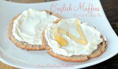 Egg white, psyllium fiber, coconut flour, cream cheese