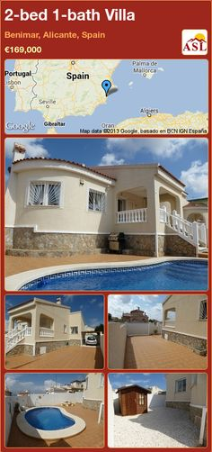 2-bed 1-bath Villa in Benimar, Alicante, Spain ►€169,000 #PropertyForSaleInSpain