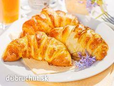 Maslové croissanty