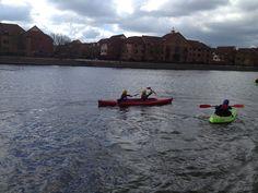 Bristol harbour kayaking