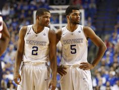 These two are tournament ready and always perform go get #harrisontwins #bbn #kentucky shut the #Bearcats out!