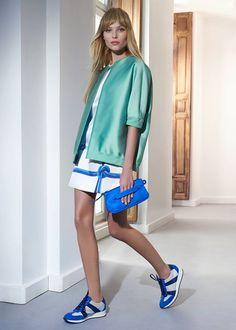 Blue Love! Longchamp 3D accessories. SS15  Visit: www.longchamp.com