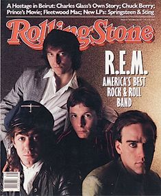 """1987 """"Rolling Stone"""" cover story about Athens' (and America's!) Best Rock & Roll Band"""