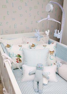 baby Boy Nursery. This is just adorable. I love this nursery! #Nursery