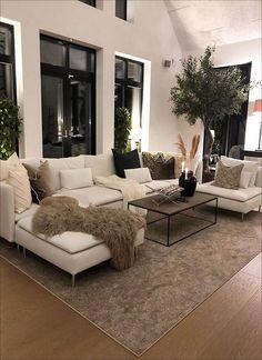 Dream House Interior, Room Interior Design, Dream Home Design, Interior Decorating, Home Living Room, Apartment Living, Living Room Designs, Living Room Decor, Living Spaces