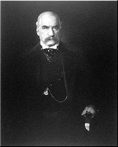 """John Pierpont Morgan (April 17, 1837 – March 31, 1913) was an American financier, banker and art collector who dominated corporate finance and industrial consolidation during his time. In 1892 Morgan arranged the merger of Edison General Electric and Thomson-Houston Electric Company to form General Electric. Morgan died in Rome, Italy, in his sleep in 1913 at the age of 75, leaving his fortune and business to his son, John Pierpont """"Jack"""" Morgan, Jr."""