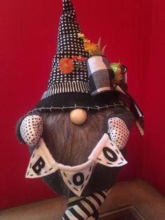 #gnome #falldecor #halloween #halloweendecor #halloweengnome #fallcenterpiece #fallarrangement #halloweencenterpiece #tableaccent #seasonaldecor #fallgnome #candlestick #holidaze #etsy #shop #google #holidazedecor #holidaydesigner