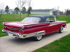 59 Ford Galaxie 500 Fairlane Convertible