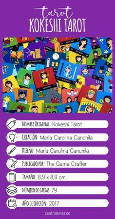 Kokeshi Tarot - The cutest Tarot deck