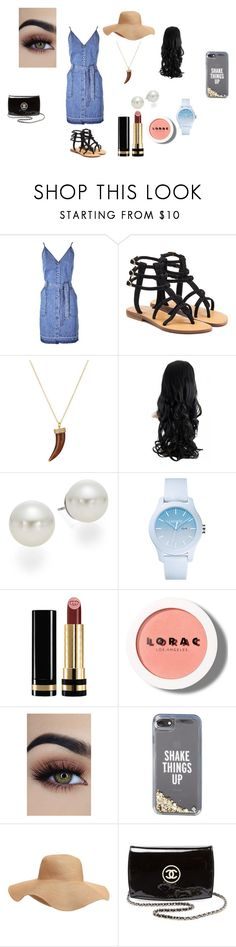"""""""Untitled #38"""" by shiyanemcnab on Polyvore featuring J Brand, Mystique, Samira 13, AK Anne Klein, Lacoste, Gucci, LORAC, Kate Spade, Old Navy and Chanel"""
