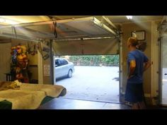 Lifestyle garage door screens by Advance Screens - YouTube