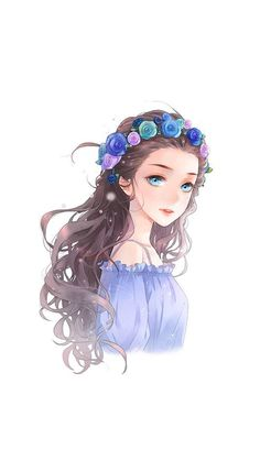 Believe in destiny illustrations art dessin manga aquarelle e. Anime Girl Cute, Beautiful Anime Girl, Kawaii Anime Girl, Anime Art Girl, Anime Girls, Cartoon Kunst, Cartoon Art, Illustration Girl, Character Illustration