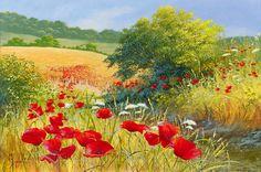 Автор Mary Dipnall. Цветы в поле