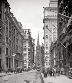 Lower Manhattan, 1903