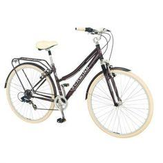 This is my Schwinn Bike I love it great family bike rides Schwinn 700c Ladies' Errand Hybrid Bike -Commuter Bike