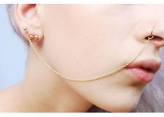 7Hey, I found this really awesome Etsy listing at https://www.etsy.com/listing/196572797/nose-chain