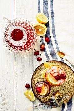 spiked cherry sweet tea