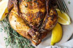 Turkey Recipes, Chicken Recipes, Dinner Recipes, Baking Recipes, Healthy Recipes, Yummy Recipes, Healthy Food, Receta Bbq, Oven Roasted Chicken