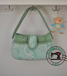 Elegant Handbag PDF Tutorial and Pattern by LYPatterns on Etsy, $5.00
