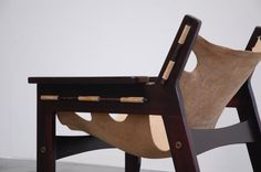 Sergio Rodrigues Kilin easy chair for OCA 1973