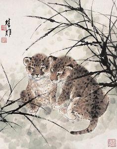 леопарды?