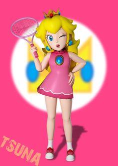 Princess Peach by OTsunaO