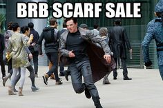 BECAUSE YOU BOTH LOVE SCARVES. | 18 Reasons Stay-At-Home Moms Love Benedict Cumberbatch